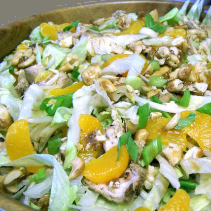 Cashew-Orange Chicken Salad