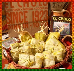 Green Corn Tamales – recipe from El Cholo