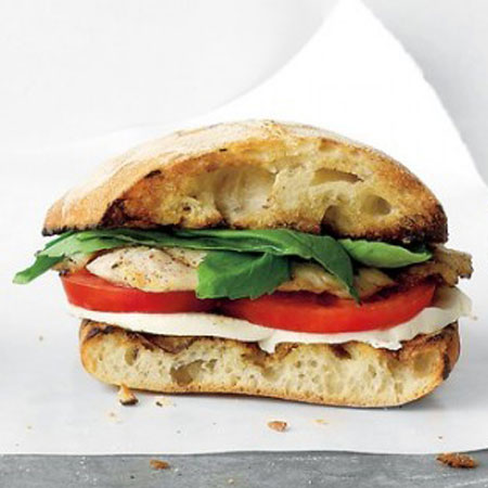 Chicken Caprese Sandwiches